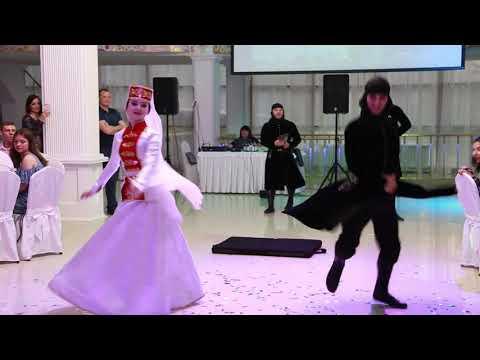 Кавказский танец на