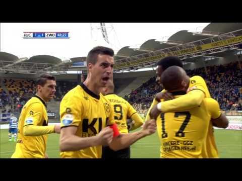 Roda JC Kerkrade - PEC Zwolle 6 april 2017 [samenvatting]