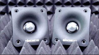 Обзор высокочастотных динамиков Machete MT-30!