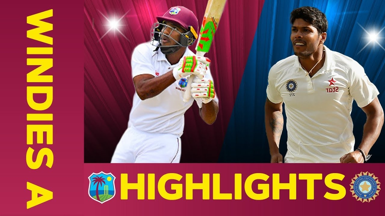 West Indies A vs India A - Match Highlights | 3rd Test - Day 4 | India A Tour of West Indies