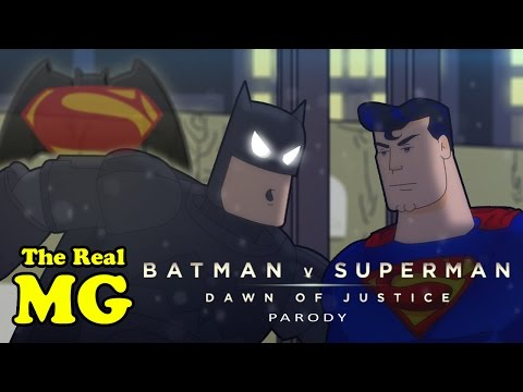 The Real MG: Batman V Superman ( Animated Parody)