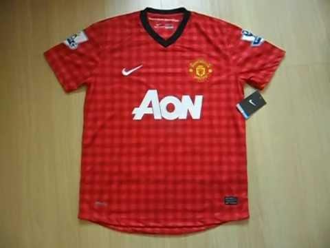 www.mundodascamisas.com.br - Camisa 2012/2013 do Manchester United nº10 Rooney