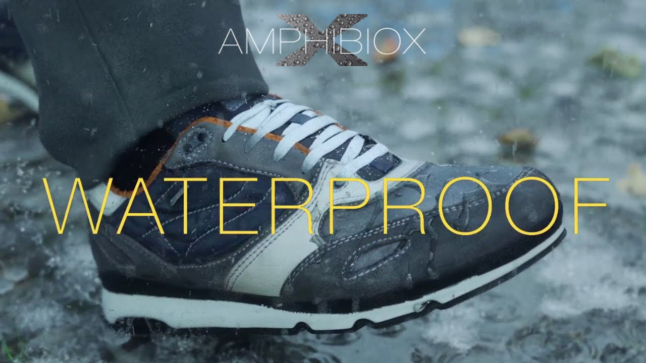 GEOX AMPHIBIOX Sandro: Perfect for any condition