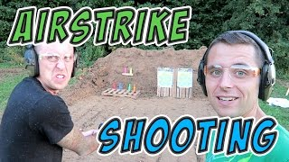 Dale Atwood VS Roman Atwood AirStrike Shooting