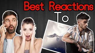 Best Reactions to ZAYN ICARUS FALLS ALBUM!
