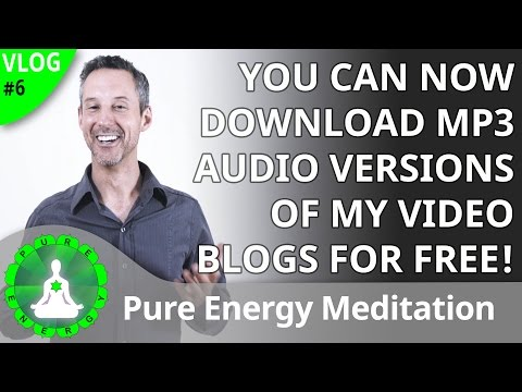 VLOG 6: You Can Now Download Free MP3 Podcasts of My Videos!