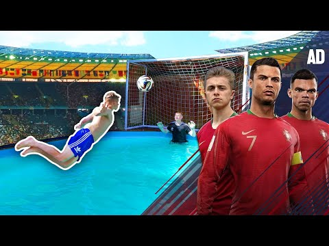 Van Persie DIVING HEADER Challenge | Ronaldo's Road To The World Cup - EP. 4