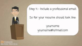 Interview Skills - How to write your Resume/CV - Personal Details