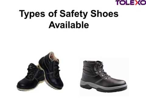 Types of Safety Shoes
