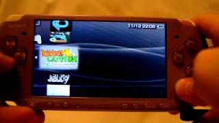 My PSP homebrews and games