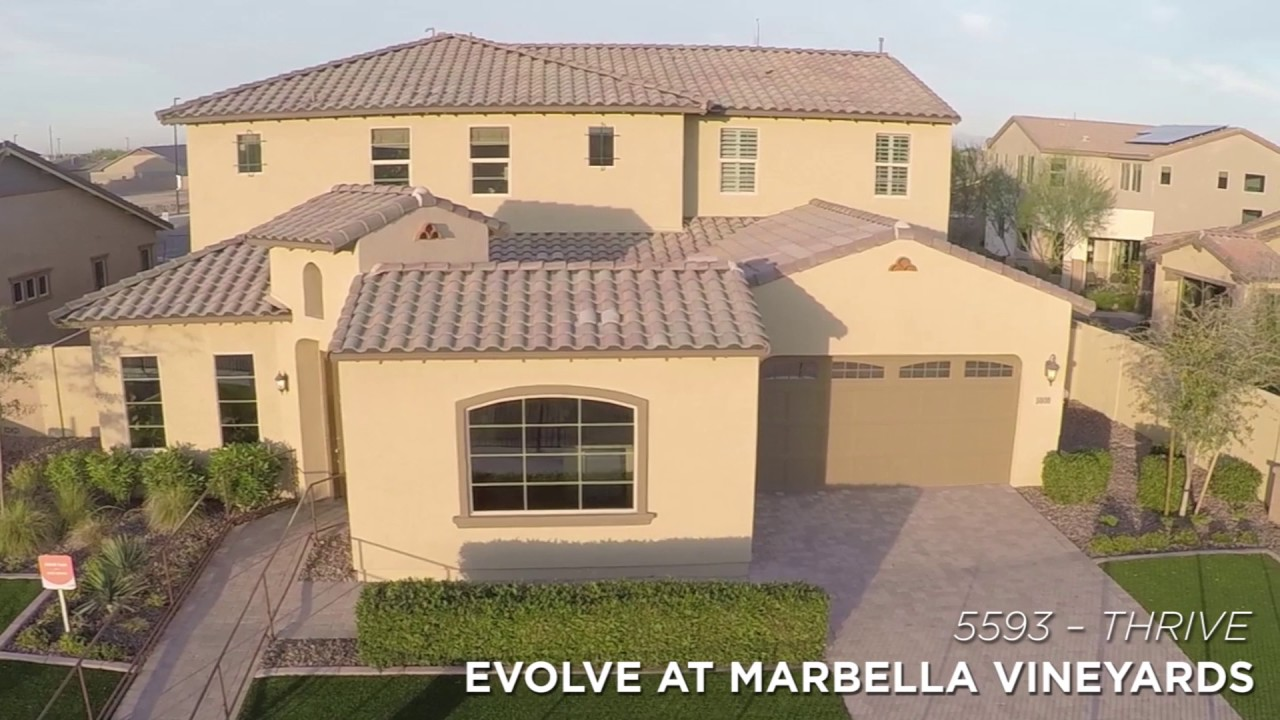 Evolve At Marbella Vineyards New Homes