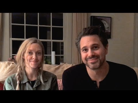 Amanda Seyfried and Thomas Sadoski have a message about Syrian refugees