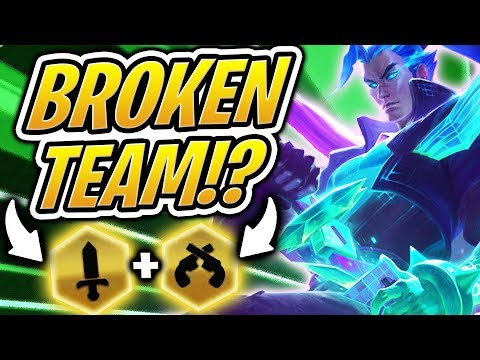 THE MOST BROKEN TEAM IN TFT!  FULL BLADEMASTER GUNSLINGERS COMP | Teamfight Tactics | LoL Auto Chess
