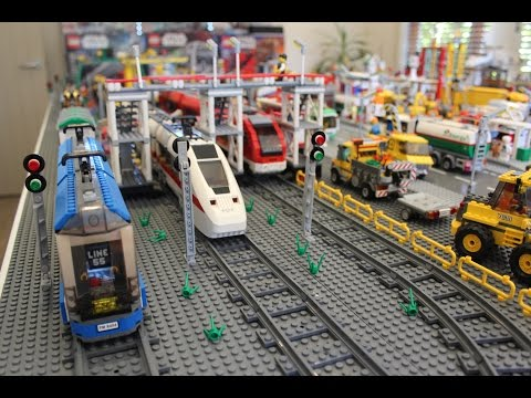 Lego City 2015 Update - Mining, Airport, Trains, Harbor, Farm, Racing, Beach, Fire, Police