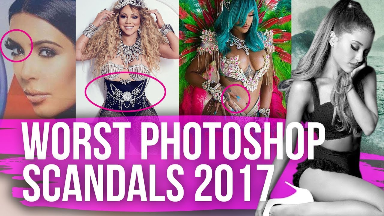 Most SHOCKING Celeb Photoshop Scandals Of Dirty Laundry - This shocking video shows how photoshopped models are