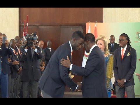 Côte d'Ivoire/Sport: Les médaillés olympiques récompensés au Palais de la république
