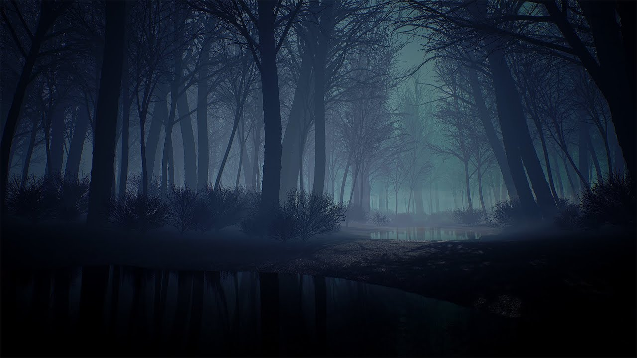 Fall Hunting Wallpaper A Quick Creepy Forest Environment In Ue4 Youtube