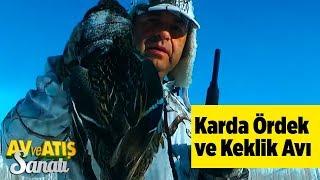 Karda Ördek ve Keklik Avı  Av ve Atış Sanatı Yaban Tv - Snow Duck and Partridge Hunting Türkey