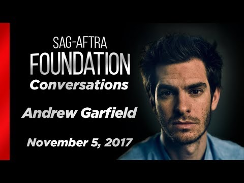 Conversations with  Andrew Garfield