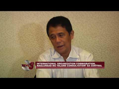 INTERNATIONAL ORGANIZATION FOR MIGRATION, NAGLUNSAD NG 'ISLAND CONSULTATION' SA CENTRAL LUZON