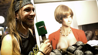 Venus 2016: Deepthroat Challenge feat. Marco Pogo - Berlin Metal TV