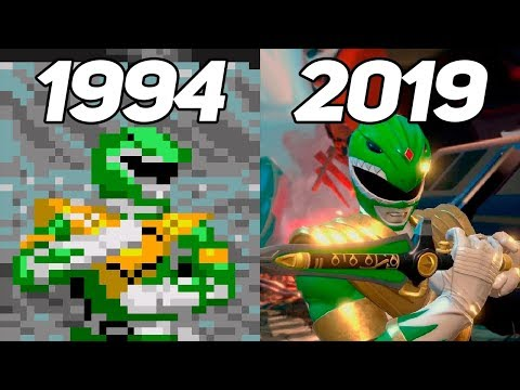 Evolution of Power Rangers 1994-2019