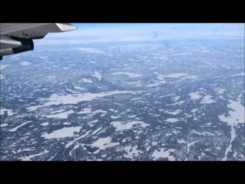 In Flight Scenery - Northwest Territories Canada and Alaska USA