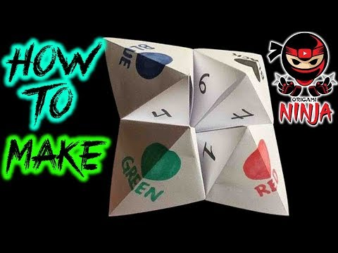 how-to-fold:-origami-fortune-teller