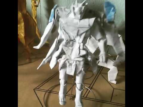 Origami Gundam By Yuranan