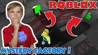 SOLVING MURDER MYSTERY in ROBLOX FACTORY (MM2 NEW MAP)