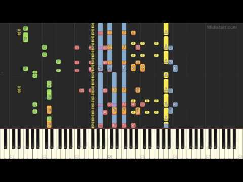 Army of Lovers - Sexual Revolution (Piano Tutorial) [Synthesia Cover]
