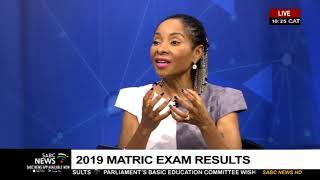 UCT Vice-Chancellor Prof. Mamokgethi Phakeng on 2019 matric results