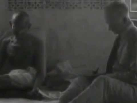 Mahatma Gandhi's Rare Original Interview Live