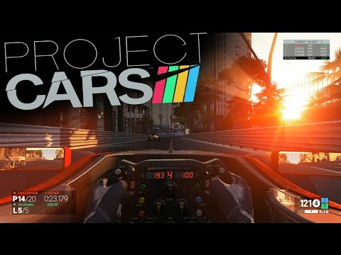 Project CARS Gameplay: Monaco Night Race F1 Mclaren Honda