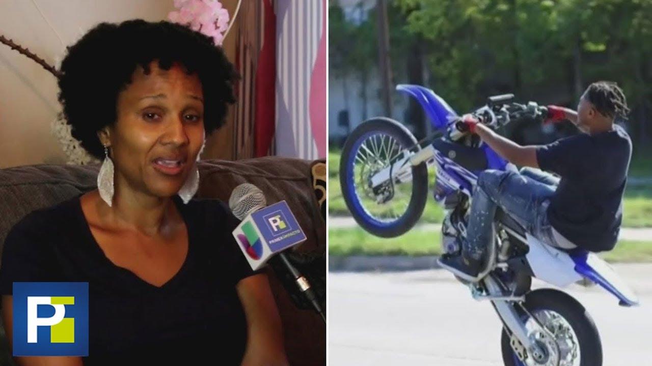 """""""Tenía mucho por vivir"""": el llanto de una madre cuyo hijo murió atropellado en su motocicleta"""