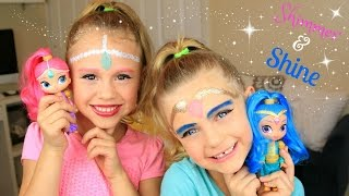 Shimmer and Shine Halloween Tutorial
