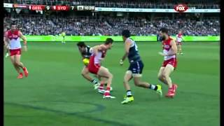 Steven Motlop AFL Goal of the Year Contender Round 22 - 2013
