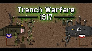 Trench Warfare 1917: WW1 Strategy Game