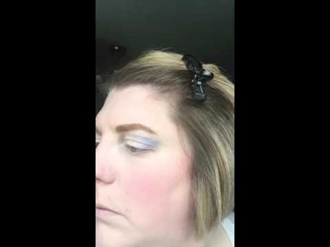 Younique Awestruck/Curious Mineral Pigment Application