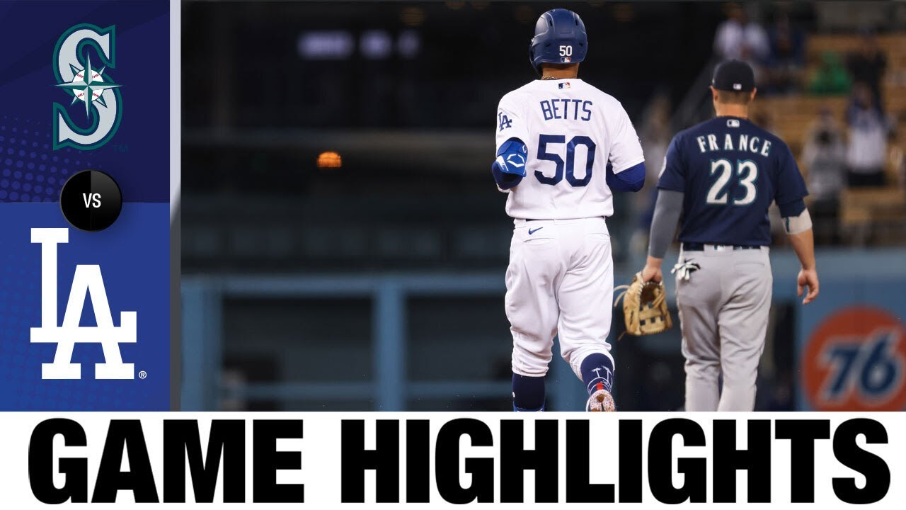 Download Mariners vs. Dodgers Game Highlights (5/12/21) | MLB Highlights