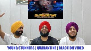 QUARANTINE - Young Stunners | Talha Anjum x Talhah Yunus x KR$NA (REACTION VIDEO BY SINGH BROTHERS)