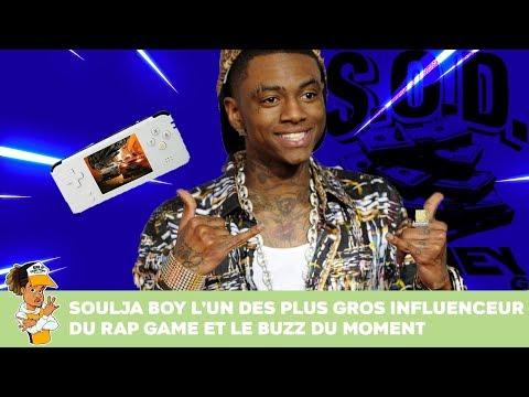 Soulja Boy l'un des plus gros influenceurs du Rap Game et le buzz du moment !!