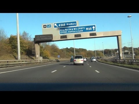 Driving in the UK - M60 Motorway
