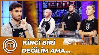 Ekin, Üçüncü Eleme Adayını Belirledi   MasterChef Türkiye15.Bölüm