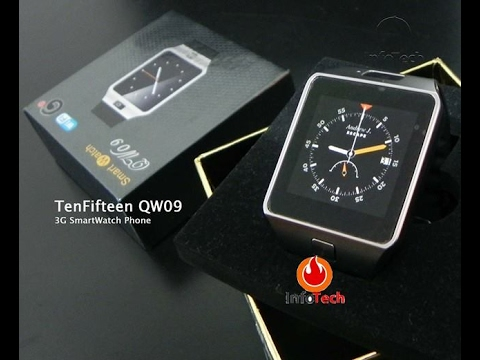 Смарт часовник Laoke qw09 с Android 4.4, Bluetooth, Wi-Fi, 3g и 2mp камераSMW1 12