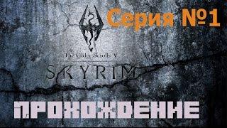 Прохождение игры TES V: Skyrim. Серия №1