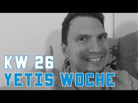 Arbeiten, Kindergeburtstag & Streamen | Yetis Woche KW 26