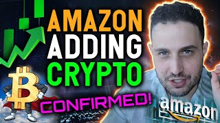 BITCOIN SURGES AS AMAZON RUMORS FLY!! IS THE BOTTOM IN?