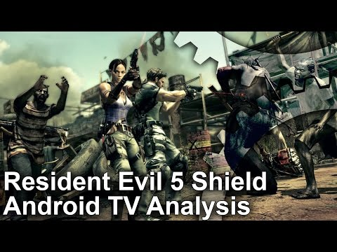 Resident Evil 5 Shield Android TV Frame-Rate Test + Analysis