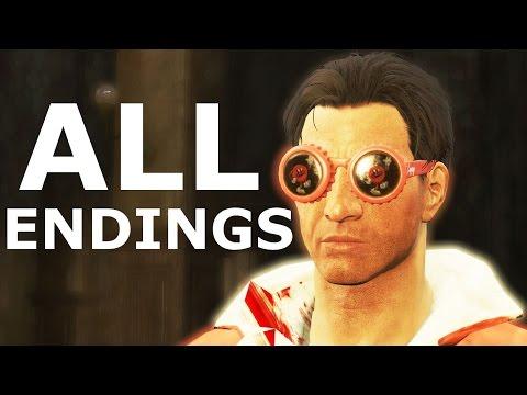 Fallout 4 Nuka World ALL ENDINGS - Power Play   Open Season - Walkthrough Gameplay
